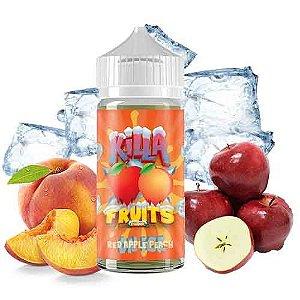 Killa Fruits - Red Apple Peach - On Ice - 100ml