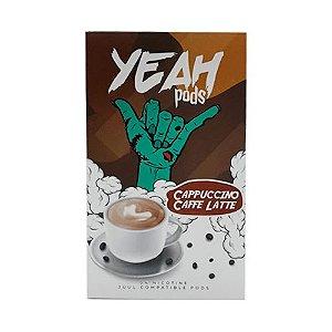 Pod Refil Yeah - 4 refil - Capuccino Cafe - 5%