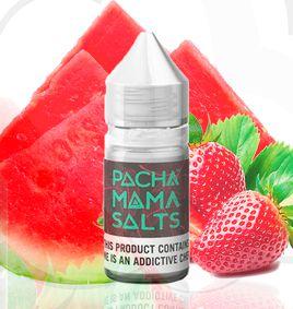 Líquido Strawberry Watermelon -  NICSALT -  PACHAMAMA 30ML