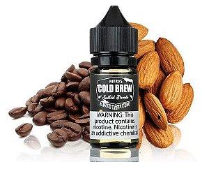 Líquido Salt Nicotine - Nitro's Cold Brew - Salted Blends - Almond Cappuccino - 30ml