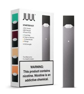 Kit Pod System - Juul Starter + 4 Pods Devices - Juul Labs
