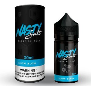 Líquido Slow Blow - Nasty Salt - 30ml