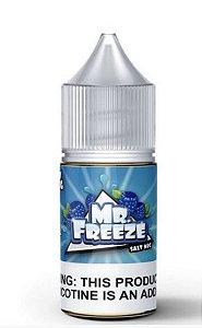 Líquido Salt Nicotine - Blue Raspberry - MR. Freeze - 30ml