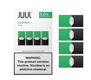Pod Refil Juul - 4 refil  - Cucumber - 5%