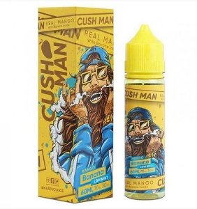 Mango Banana (Low Mint) - Cush Man - 60ml