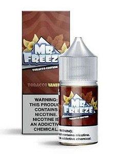 Líquido Salt Nicotine Tobacco Vanilla Nic Salt - Mr. Freeze - 30ml