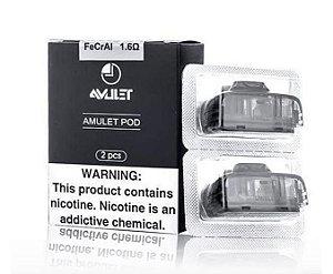 Coil / Cartucho / Resistência - Amulet Pod - 1.6 ohm - 2ml - Uwell