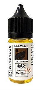 Líquido NicSalt Chocolate Tabacco  - Element - 30ml