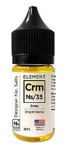 Líquido NicSalt Crema - Element - 30ml