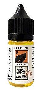 Líquido NicSalt  Hazelnut Tobacco - Element - 30ml