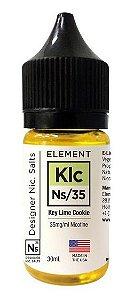 Líquido NicSalt Key Lime Cookie - Element - 30ml
