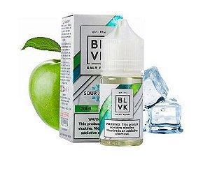 Líquido Salt Nicotine - BLVK Salt Plus - Sour Apple Ice - Nic Salt - 30ml