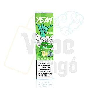 YEAH Stig - Pod Descartável - Green Apple Ice 6%