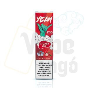 YEAH Stig - Pod Descartável - Lychee Ice 6%