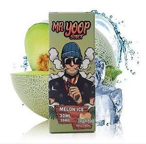 Líquido Nicotine Salt - Mr Yoop Salt - Melon Ice - 30ml