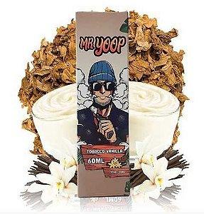 Líquido Nicotine Salt - Mr Yoop Salt - Tabacco Vanilla - 30ml