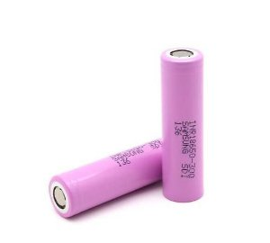 Bateria - 18650 30Q 3.7V - 3000 mAh - Samsung
