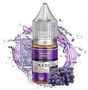 Líquido Nicotine Salt - GLAS BSX Salt - Grape Drink - 30ml