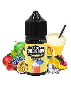 Líquido Salt Nicotine - Nitro's Cold Brew - Smoothies - Fruit Splash - 30ml