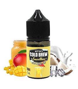 Líquido Salt Nicotine - Nitro's Cold Brew - Smoothies - Mango Coconut Surf - 30ml