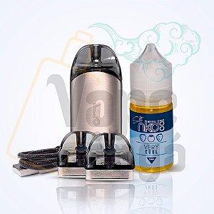 Kit Pod System - Renova Zero - Vaporesso + Kit Coil Renova Zero + Nicsalt Importada - 30ml