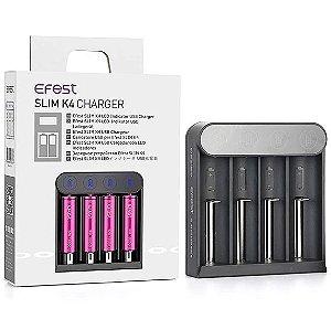 Carregador de Bateria - Slim k4 Charger - Efest