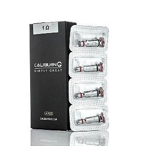 Coil / Bobina / Resistência - Caliburn g Pod - 1.0 ohm - Uwell