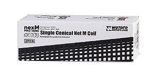 Coil/Resistência #H13 - Single Conical net M Coil - 0.15ohm - Wotofo