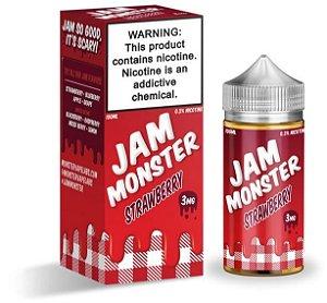 Strawberry - Jam - Monster - 100ml