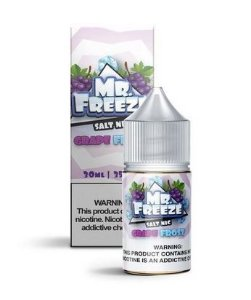 Líquido Salt Nicotine - Grape Frost - MR. Freeze - 30ml