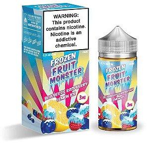 Blueberry Raspberry Lemon Ice - Frozen Fruit - Monster - 100ml
