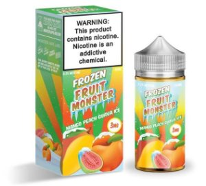 Mango Peach Guava Ice - Frozen Fruit - Monster - 100ml