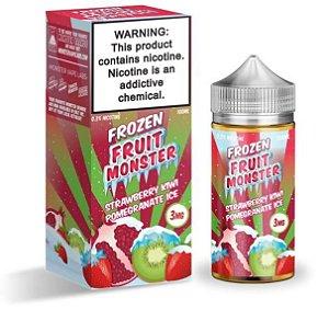 Strawberry Kiwi Pomegranade Ice - Frozen Fruit - Monster - 100ml