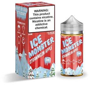 Strawmelon Apple - Ice - Monster - 100ml