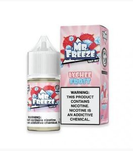 Líquido Salt Nicotine Lychee Frost Nic Salt- Mr. Freeze - 30ml