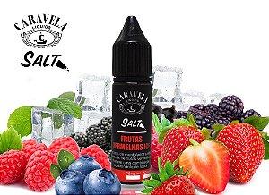 Líquido Nicsalt - Frutas Vermelhas Ice - Caravela - 15ml