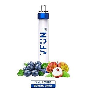 Pod Descartável - VFUN - Led Flash Edition - Blueberry Lychee - 1000 Puff - QUAWINS