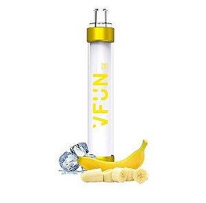 Pod Descartável - VFUN - Led Flash Edition - Banana Ice - 1000 Puff - QUAWINS