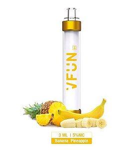 Pod Descartável - VFUN - Led Flash Edition - Banana Pineapple - 1000 Puff - QUAWINS