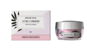 MÁSCARA FACIAL LIFTING E FIRMADORA - CHATA DE GALOCHA