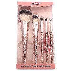 Kit de pincel para maquiagem - J pan
