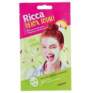 Máscara Facial para Limpeza e Renovação- Ricca
