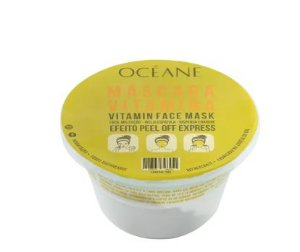 Máscara facial vitamina face mask - océane