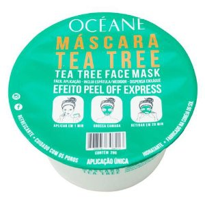 Máscara facial tea tree face mask - océane