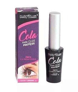 Cola para cílios postiços - (preta) Macrilan