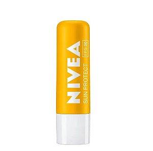 Protetor Labial Nivea Sun Protect FPS30 - 4,8g