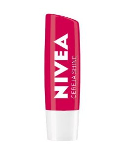 Protetor Labial Nivea Shine - Cereja Shine - 4,8g