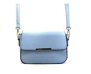 Bolsa Transversal Pequena Bia Azul Claro