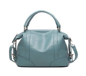 Bolsa de Mão Azul Claro Maia