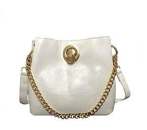 Bolsa Saco Mariana Off White
